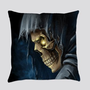 Grim Reaper Everyday Pillow