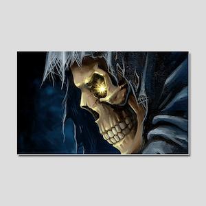Grim Reaper Car Magnet 20 x 12