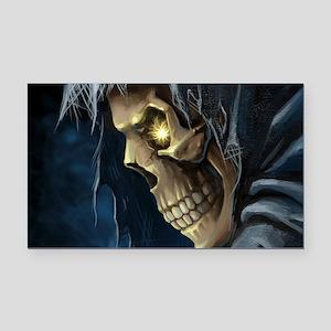 Grim Reaper Rectangle Car Magnet