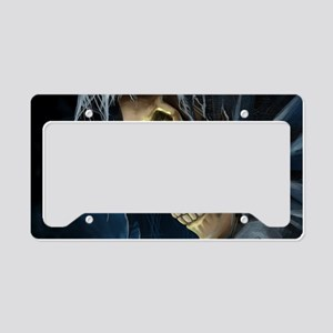 Grim Reaper License Plate Holder