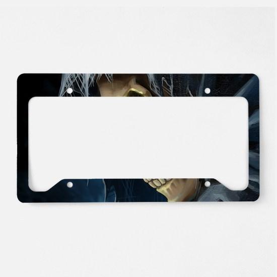 Grim Reaper License Plate Holder
