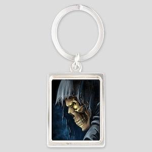 Grim Reaper Portrait Keychain