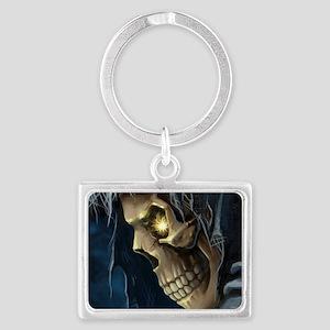 Grim Reaper Landscape Keychain
