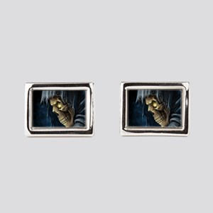 Grim Reaper Rectangular Cufflinks