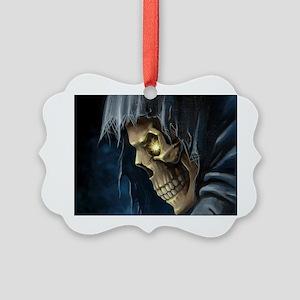 Grim Reaper Picture Ornament