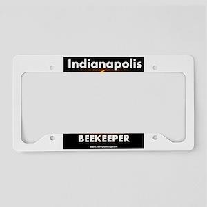 Indy Beekeeper License Plate Holder