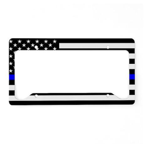 Police: Black Flag & The Thin Blue Line License Pl