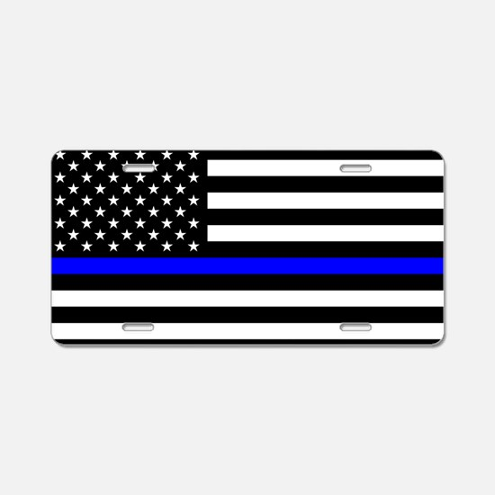 Police: Black Flag & The Thin Blue Line Aluminum L