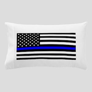 Police: Black Flag & The Thin Blue Line Pillow Cas