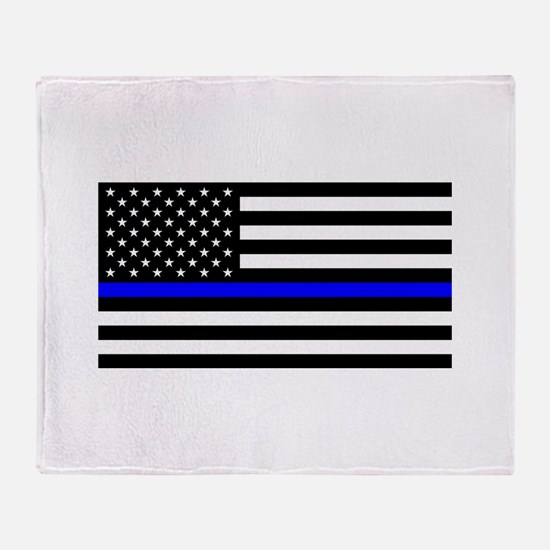 Police: Black Flag & The Thin Blue Line Throw Blan