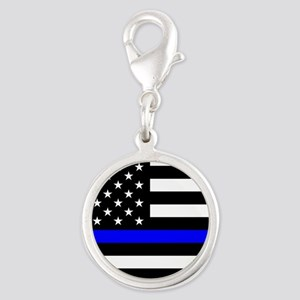 Police: Black Flag & The Thin Blue Line Charms