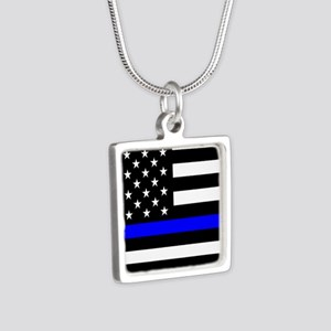 Police: Black Flag & The Thin Blue Line Necklaces