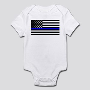 Police: Black Flag & The Thin Blue Line Body Suit