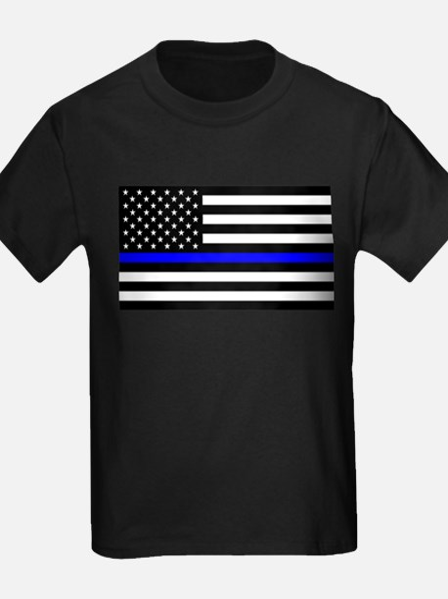 Police: Black Flag & The Thin Blue Line T-Shirt