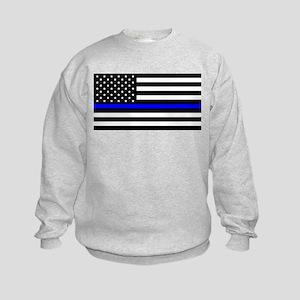 Police: Black Flag & The Thin Blue Line Sweatshirt