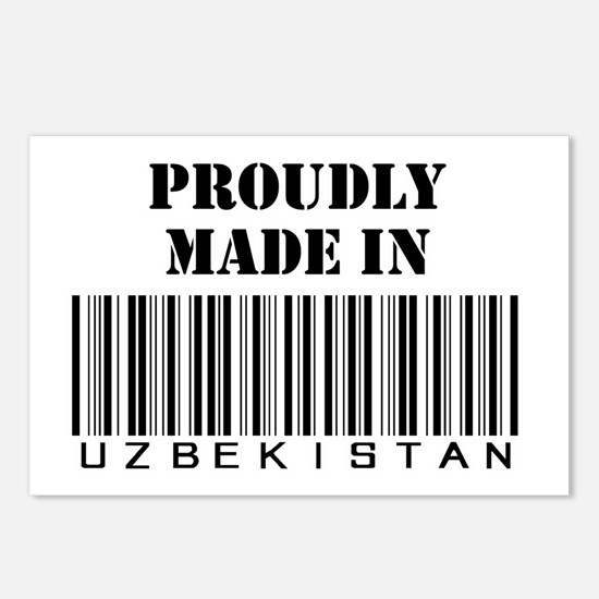Made in Uzbekistan Postcards (Package of 8)