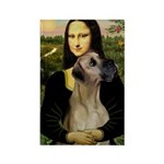 Mona / Great Dane Rectangle Magnet (10 pack)
