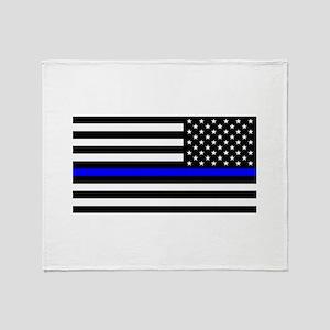 Police: Black Flag & The Thin Blue Line Throw Blan