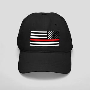Firefighter: Reverse Black Flag & Red Li Black Cap