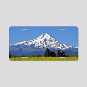 Mount Hood, Oregon, USA Aluminum License Plate