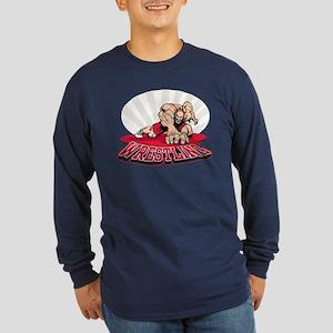 Wrestling! Long Sleeve Dark T-Shirt