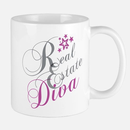 Real Estate Diva Mugs