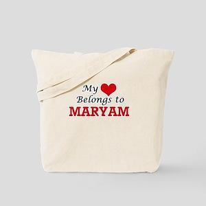 My heart belongs to Maryam Tote Bag
