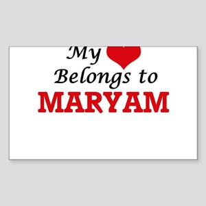 My heart belongs to Maryam Sticker