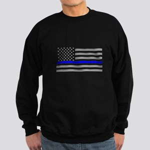 Thin Blue Line Sweatshirt (dark)