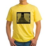 New Orleans cemetery statue Yellow T-Shirt