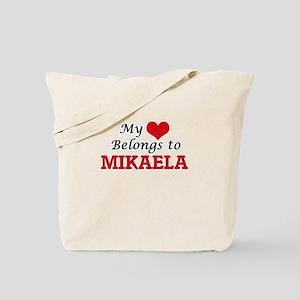 My heart belongs to Mikaela Tote Bag