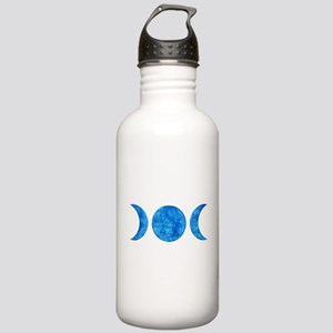 Distressed Moon Symbol Stainless Water Bottle 1.0L