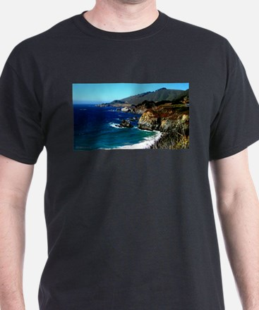 Big Sur on the Pacific Coas T-Shirt