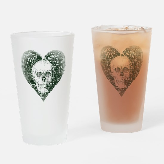 Spectral Skull Drinking Glass