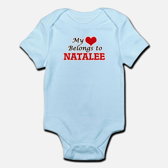 My heart belongs to Natalee Body Suit