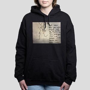 Sweet Kiss Women's Hooded Sweatshirt