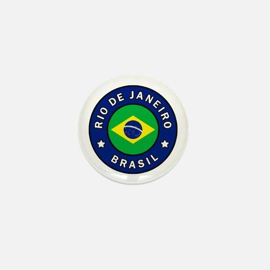 Cute Brasileiro Mini Button