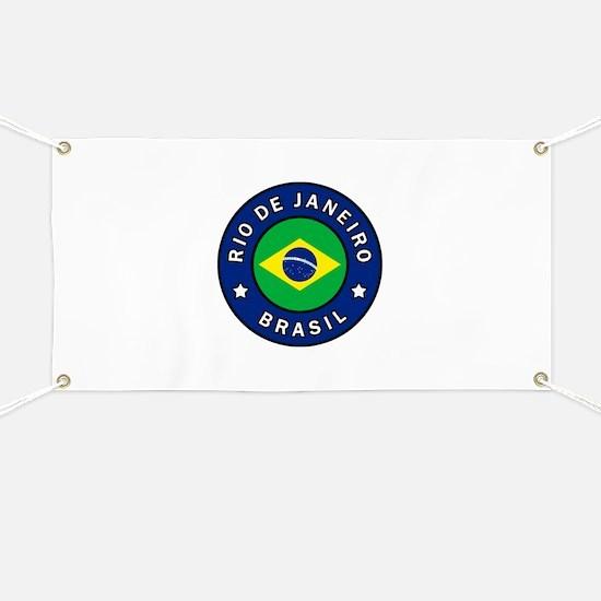 Rio de Janeiro Brasil Banner