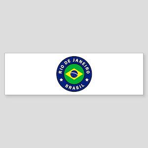 Rio de Janeiro Brasil Bumper Sticker