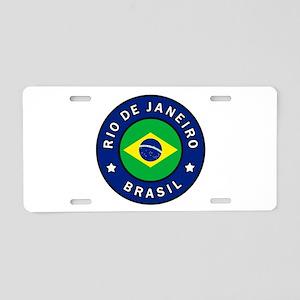 Rio de Janeiro Brasil Aluminum License Plate