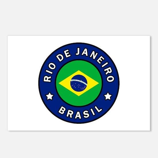 Rio de Janeiro Brasil Postcards (Package of 8)