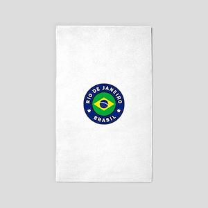 Rio de Janeiro Brasil Area Rug