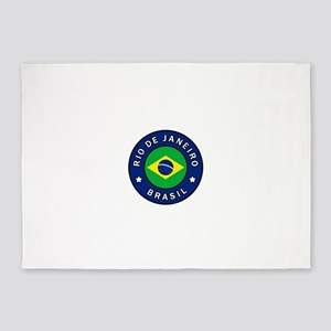 Rio de Janeiro Brasil 5'x7'Area Rug
