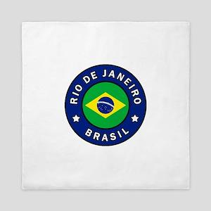 Rio de Janeiro Brasil Queen Duvet