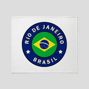 Rio de Janeiro Brasil Throw Blanket