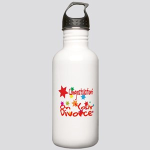 Congratulations On You Stainless Water Bottle 1.0L