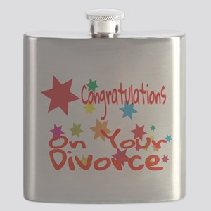 Congratulations On Your Divorce Flask