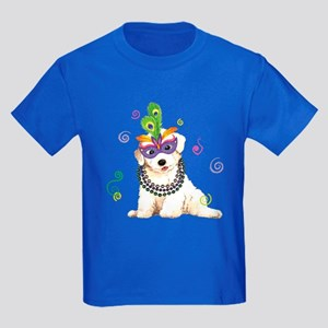 Party Bichon Kids Dark T-Shirt