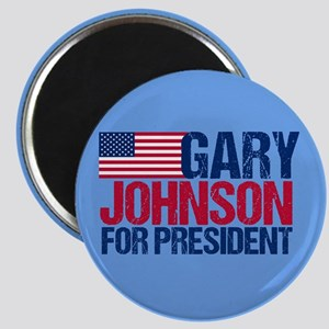Gary Johnson Magnet