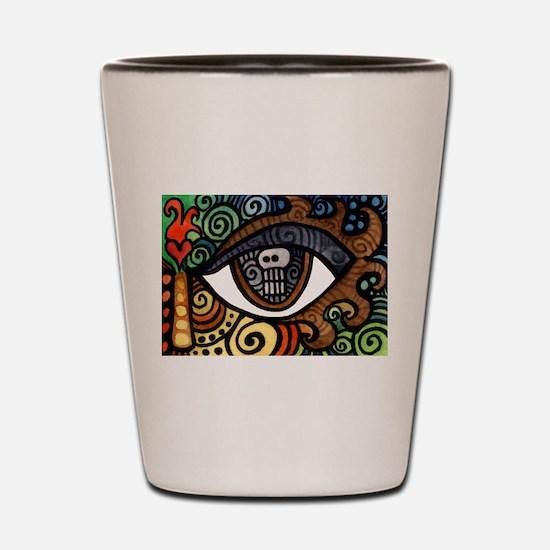 Skull Eye Shot Glass
